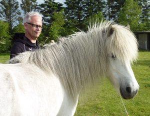 Lederudvikling med heste. Adm. dir. Jan Lundgren, Coop Trading